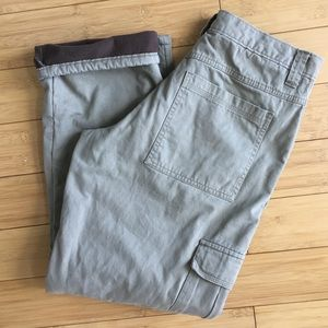 1b140d7c Wrangler Pants - Wrangler Authentics Men's Fleece-Lined Cargo Pant